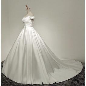 0cd8e7c43 Vestido De Noiva Estilo Princesa Foto Real - Vestidos no Mercado ...