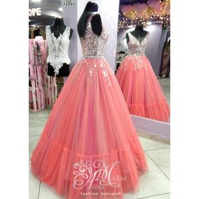 6358c2a31 Vestido De 15 Anos Melon - Vestidos Mujer en Mercado Libre Perú