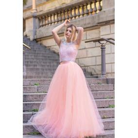 08a747a7e0 Vestido Color Salmon Fuerte Vestidos De 15 Largos Mujer - Vestidos ...