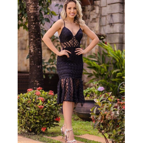 10f663d8d Vestido Todo Renda Guipir - Vestidos Outros Tipos Médios Femininas ...