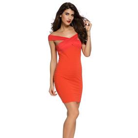 1447bd59af Vestido Entallado Negro Dorado Con - Vestidos de Mujer Liso en ...