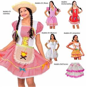 948c797c5 Vestido Festa Junina Personagem - Vestidos Femininas Vermelho em Santana de  Parnaíba no Mercado Livre Brasil
