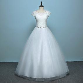 8b29d469e Vestido Estilo Princesa - Vestidos Longos Femininas Branco no ...