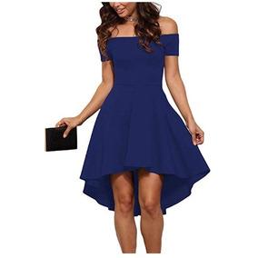 dee50a440 Vestidos Fiesta Para Mujeres Maduras De Noche Mujer - Vestidos Azul ...