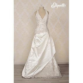 51d2173f67 Vestido Con Tablones Vestidos De Novia Largos Mujer - Vestidos de ...