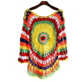 6f68dbe05ad1f Vestido Praia Colorido Cetim - Vestidos Curtos Femininas no Mercado Livre  Brasil
