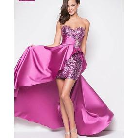Vestidos de fiesta largos en color lila