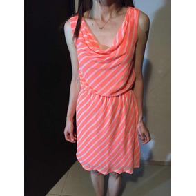 d41c3d0ca7 Vestido Express Color Naranja Con Blanco