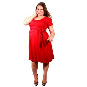 a1a481f2c Roupa Gravida Vestido Plus Size Blusa M.vitória Eg + Brinde