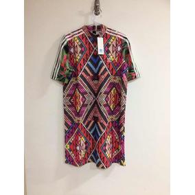 3918bbe78e4 Vestido Adidas Originals - Vestidos Femininas Bordô no Mercado Livre Brasil