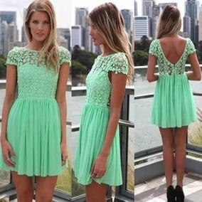 adcc0aaf5d Vestido Longo Verde Agua Renda - Vestidos Longos Femininas em Rio de ...
