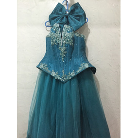 b5ca690e9 Ultimo Precio Vestido Xv Anos - Ropa para Bebés Azul petróleo en ...
