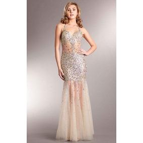fee61cb0f Vestido 15 Años Largo Fiesta Noche Día Mujer Elegante T4-xs