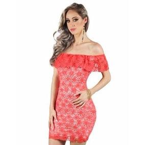 a171dd84fb Vestido Ciganinha Gordinha - Vestidos Casuais Femininas Coral no ...