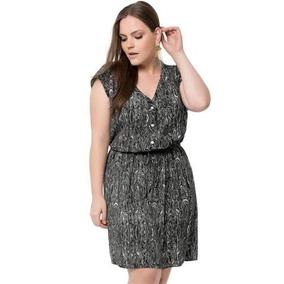 931b9931bdb4 Vestido Viscose Plus Size - Vestidos Casuais Femininas, Usado no ...