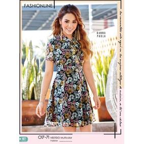 c2f5f611b4 Vestido Cklass Multicolor 017-71 Primavera Verano 2018 Nuevo