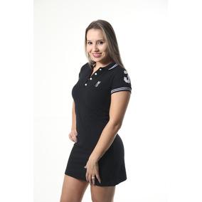 d07a96c343cdc Vestido Malwee Estilo Gola Polo no Mercado Livre Brasil