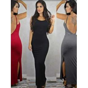 cfddaacc6 Vestidos Com As Costas Nua - Vestidos Femininas Violeta escuro no Mercado  Livre Brasil
