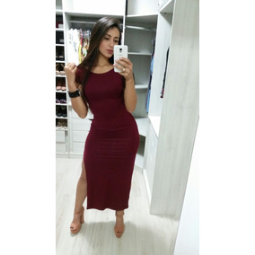 1433b974c Vestido Longo Feminino Ednonme Com Venda Festa Balada. R  50