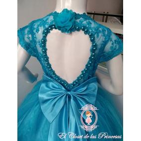 89d0736d3 Vestido Love De Fiesta Para Niñas Promoción Inicial T.6 Y 8