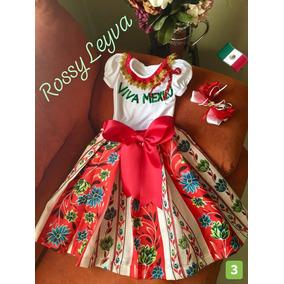 37ecddcc4 Vestidos De Niña Mexicanos en Mercado Libre México