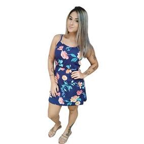 da6ad76d60 Vestido Hurley Tamanho G - Vestidos Casuais Curtos G Femininas Azul ...