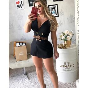 97c12b5bfe Cinto De Oncinha Com Fivela - Vestidos Curtos Femininas no Mercado ...