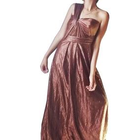 0876daf5677 Vestido Ouro Velho Tecido Brilhante Dourados - Vestidos Femininas no ...