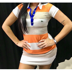 5977b6ce5e02d Vestido Polo Lacoste - Vestidos Casuais Femininas no Mercado Livre ...