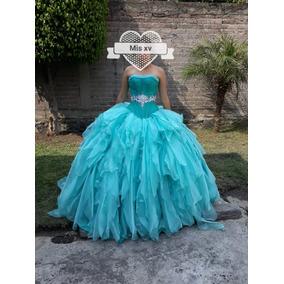 Vestidos de salida de sexto color azul turquesa