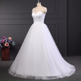 e6efa0e517 Vestido Novia Princesa Strapless Corazon A L Oferta Sin Dev