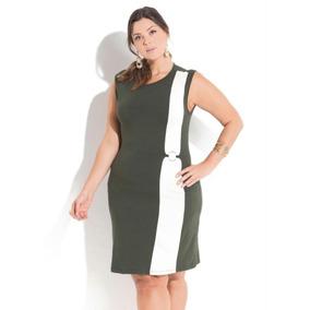 00968483f Vestido G1 Tamanho G - Vestidos Casuais Curtos G Femininas Verde ...