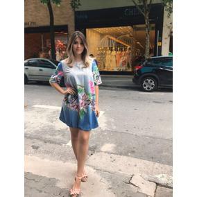1fa63025e Vestido Chemise Estampado Em - Vestidos Femininas no Mercado Livre ...