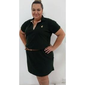 2d0017fc38 Vestido Polo Tamanho Plus no Mercado Livre Brasil