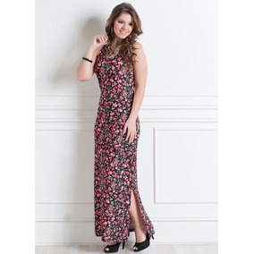 210a4dbe2 Vestido Floral Da Marca Pop - Vestidos Femininas no Mercado Livre Brasil