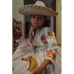 9c77b5e67 Vestido Charro Para Niña en Mercado Libre México
