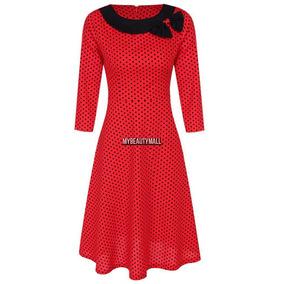 68935fb769 Vestido Lunares - Vestidos Casuales para Mujer en Mercado Libre Colombia