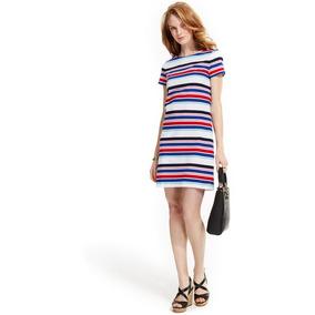 856f62d9417 Tommy Hilfiger Con Cuña Vestidos Casuales Cortos Mujer - Vestidos ...