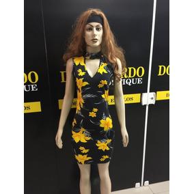49cad7b50 Vestido Roupa Feminina Verão Foral Moda 2018