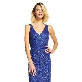 8ac89dc427faf Vestido De Noche Azul Rey - Vestidos de Noche Largos de Mujer en ...
