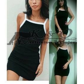 09b8ea9c59795 Vestido Negro Corto Entallado Crepe Cortos - Vestidos en Mercado ...