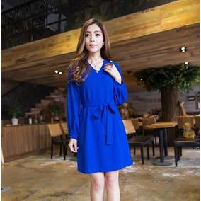8a15213e23 Vestidos Longos Dafiti - Vestidos Casuais Curtos Femininas Azul ...