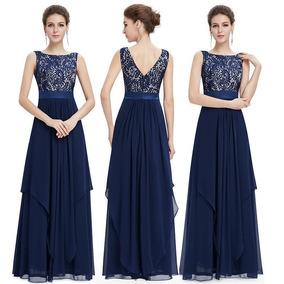 d92ec8a0b Vestido Longo De Festa Importado - Vestidos Longos Femininas Azul ...