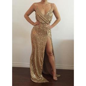 49f3fed500753 Vestido Dorado Sexy - Vestidos de Mujer en Mercado Libre Colombia