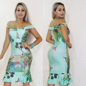 6c2a3519c Vestido Plissado Midi - Vestidos Femininas no Mercado Livre Brasil