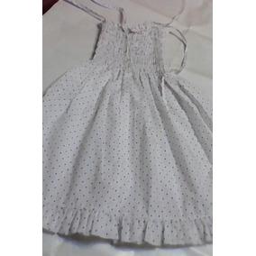 ec82b3bab Soleras De Modal Blancas - Vestidos para Niñas Blanco en Mercado ...