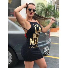 6f3d662a3  super Promoção  Vestido La Bella Mafia Branco Original - Vestidos  Femininas no Mercado Livre Brasil