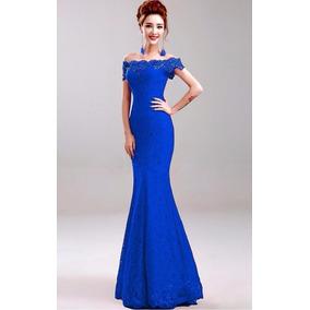 807af33ee Vestidos De Egresados Cortosrado Con Azul - Ropa