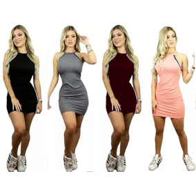 1c356ce425 Vestido Cinza Rodado - Vestidos De Festa Curtos Femininas no Mercado ...