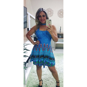 b305df4b2 Roupas Colecao 2018 Tamanho G - Vestidos Casuais Curtos G Femininas ...